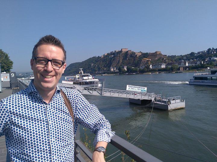 Viele Grüße aus Koblenz….. Der Urlaub kann beginnen :-)
